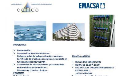Jornada Emacsa-Aefico