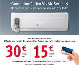 Nueva promoción aire acondicionado de Saunier Duval: Gama doméstica VivAir Serie 19